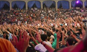 Thousands of Egyptian Christians gather to pray and worship over 3 days in October
