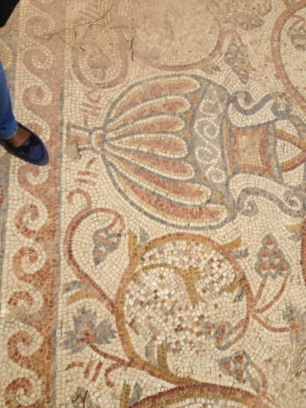 Rihab mosaic floor