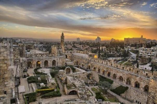 "Jerusalem of Gold. (Photo: A scene from National Geographic Entertainment's ""Jerusalem."" NATIONAL GEOGRAPHIC ENTERTAINMENT.)"