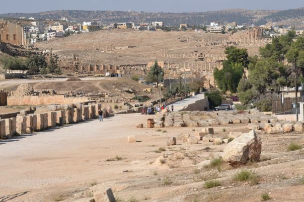 jerash - ancient churches