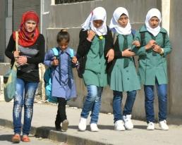 Jordanian Schoolgirls