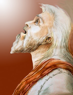 Prophet Isaiah (Drawing by Ron Cantrell)