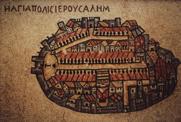 Jerusalem in the sixth century AD.