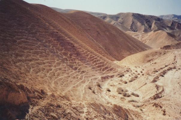 Target: the Aravah Desert.